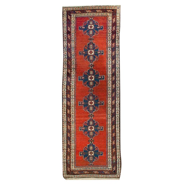 "Early 20th Century Lori Carpet Runner - 3'2"" x 9'3"" For Sale"