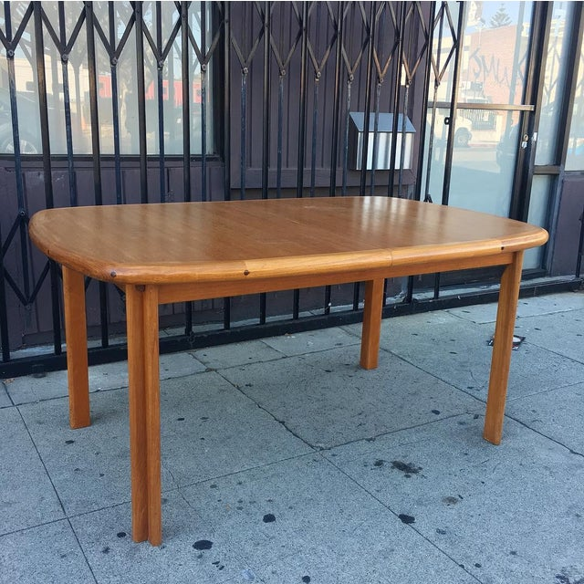 Sculpting Diethelm Scanstyle Danish Modern Butterfly Dining Table in Teak For Sale - Image 7 of 13