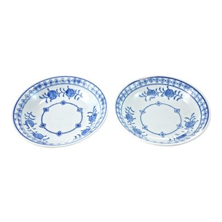 Blue & White Bowls - A Pair