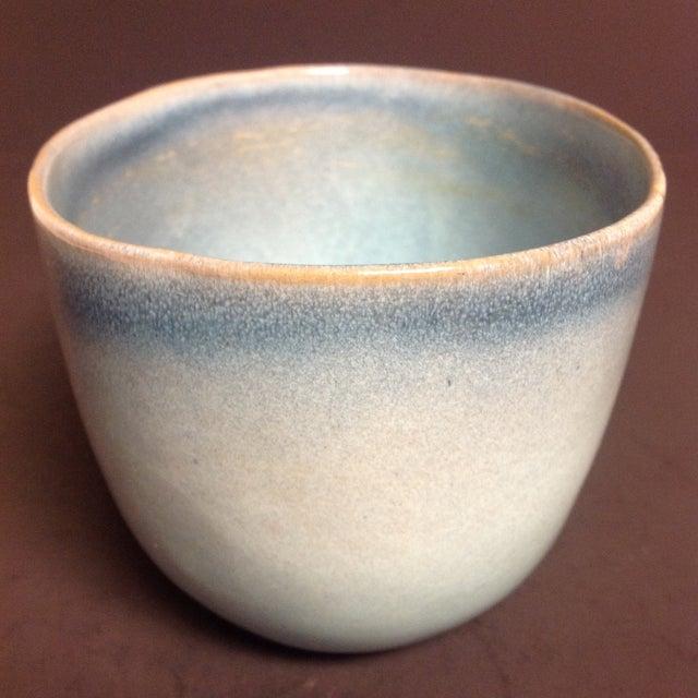 Rare Vintage Shape #37 Blue Glidden Pottery Bowl - Image 5 of 6
