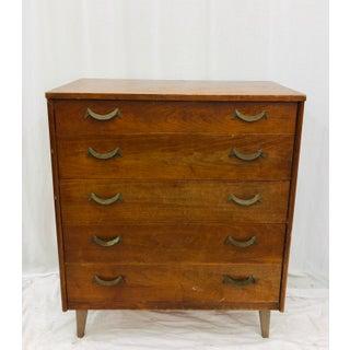 Vintage Mid Century Modern Dresser Chest Preview