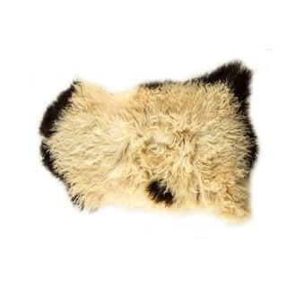 """Long Wool Sheepskin Pelt, Handmade Rug 2'1""""x3'1"""" Preview"""