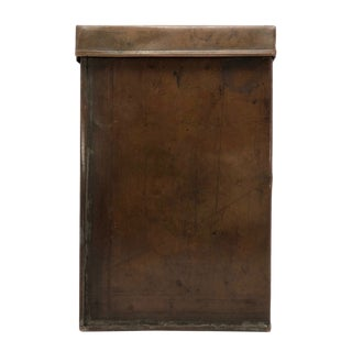 Arts and Crafts Style Lidded Copper Book Box For Sale