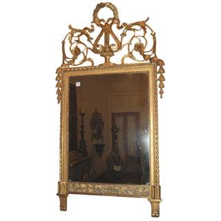 18th C. Italian Trumeau Mirror