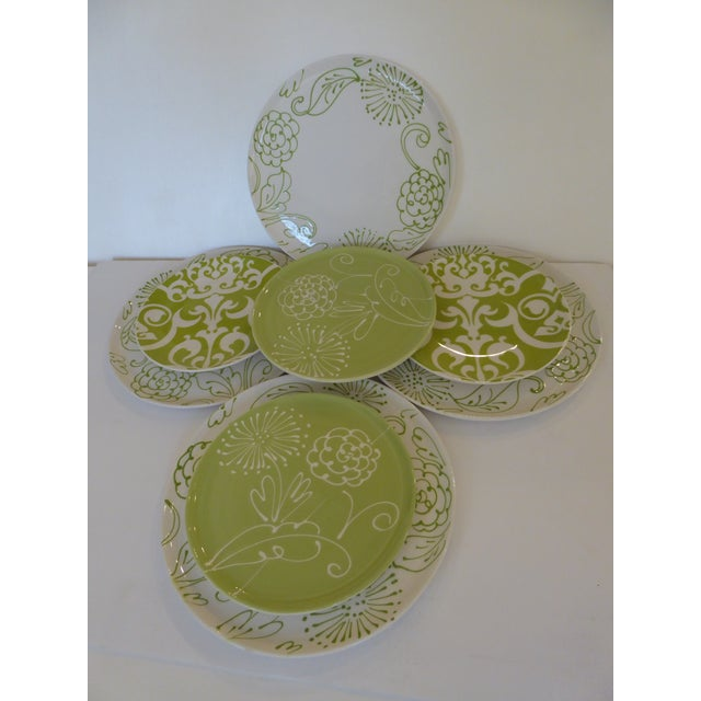6 Vietri Fresco With 2 Baroque Brazilian Plates - Set of 8 - Image 2 of 10