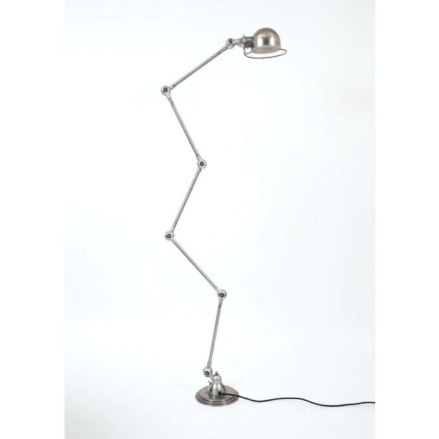 Jean Louis Domecq Industrial Floor Lamp for Jielde For Sale - Image 6 of 6