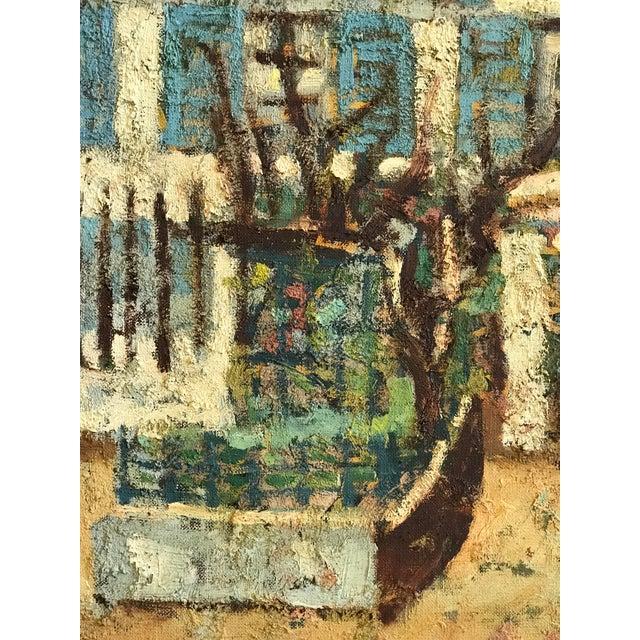 Various Artists 1940-1950s Original Abraham Krol Landscape Oil Painting For Sale - Image 4 of 8