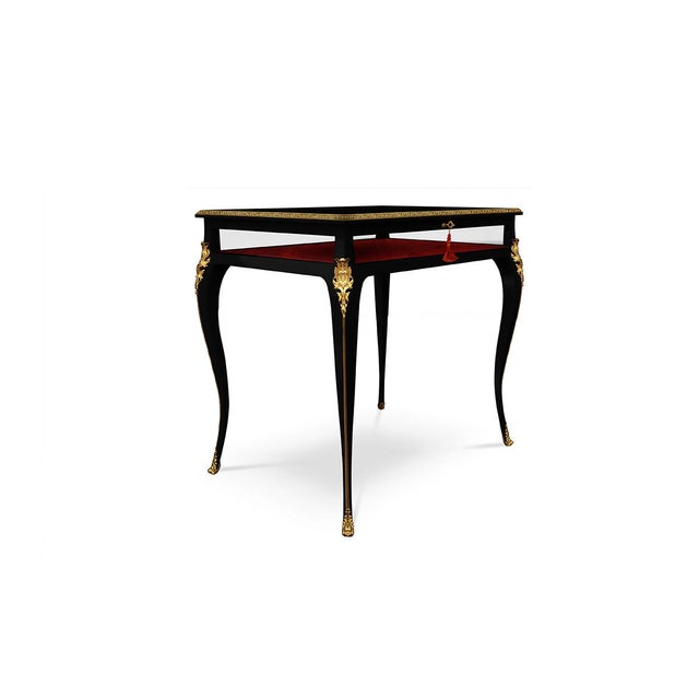 Cabriole Side Table From Covet Paris For Sale - Image 6 of 6