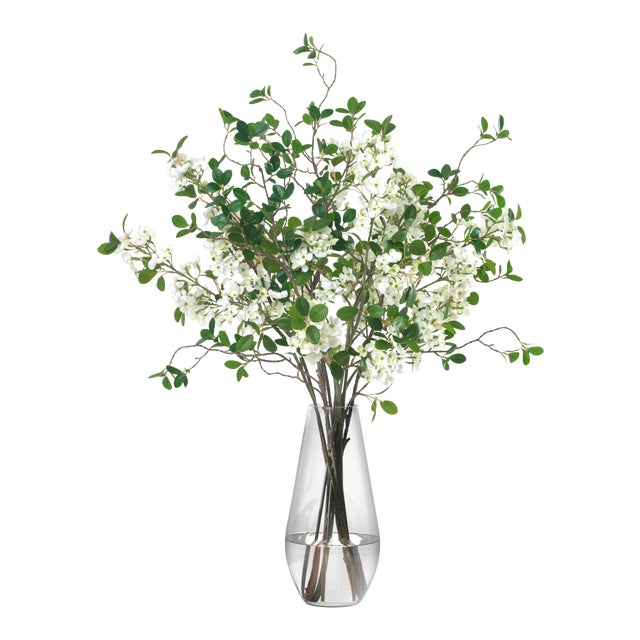 Diane James Faux Blossom and Leaf Bouquet For Sale