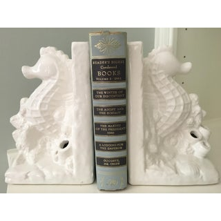 Blanc De Chine Sea Life Bookends - a Pair Preview