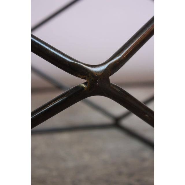 Bronze Milo Baughman for Directional Geometric Bronze Coffee Table For Sale - Image 8 of 13