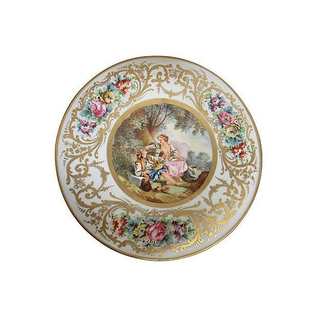 French Sevres Style Tables - A Pair - Image 3 of 7