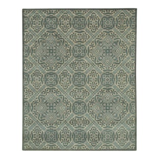Grand Updated Large Scale Ivory Traditional Pattern Rug - 8' x 10'