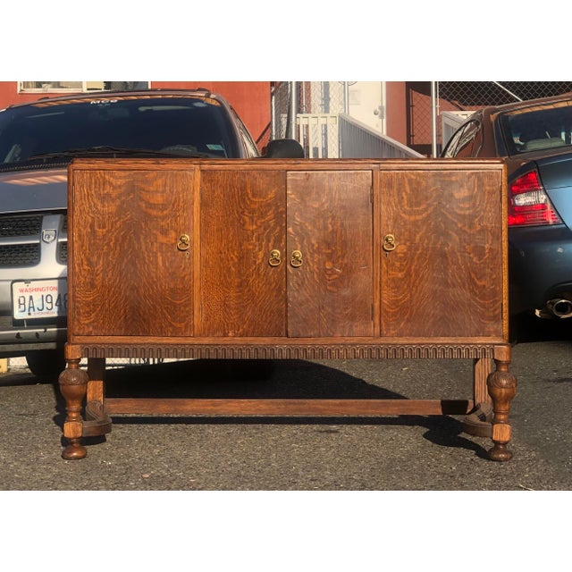 19th Century English Welsh Oak Sideboard For Sale - Image 9 of 9