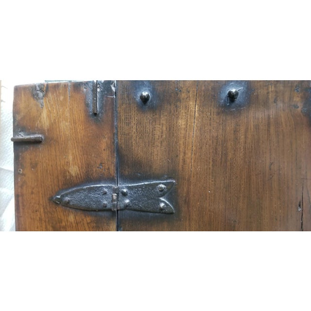 Pine Antique Korean Dowry Small Chest For Sale - Image 7 of 12