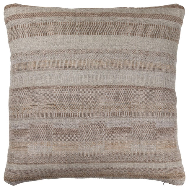 Indian Handwoven Pillow For Sale In Los Angeles - Image 6 of 6
