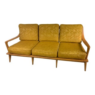 1950s Heywood Wakefield Aristocraft Champagne Couch For Sale