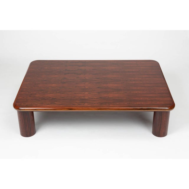 Mid-Century Modern Monumental Danish Rosewood Coffee Table For Sale - Image 3 of 9