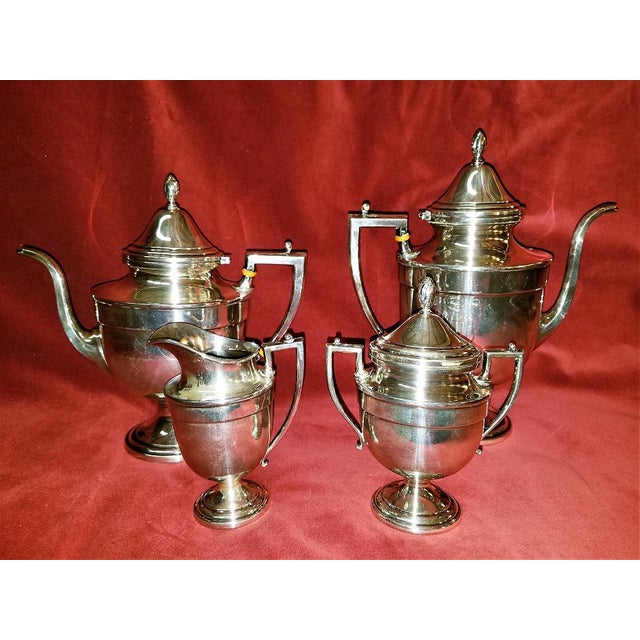 19c Frank M Whiting & Co Aesthetic Movement Sterling Service - Set of 4 For Sale - Image 13 of 13