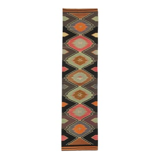 Mid-Century Kilim Runner | 2'8 X 11'11 For Sale