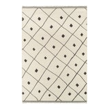 Image of Erin Gates by Momeni Thompson Appleton Ivory Hand Woven Wool Area Rug - 7′6″ × 9′6″ For Sale