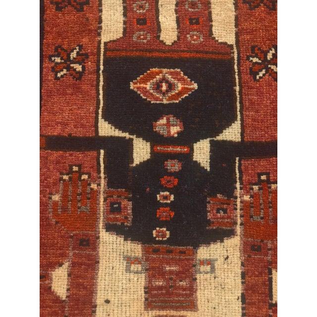"Thick & Heavy Persian Koursish Rug - 4'5"" x 12'6"" - Image 6 of 11"