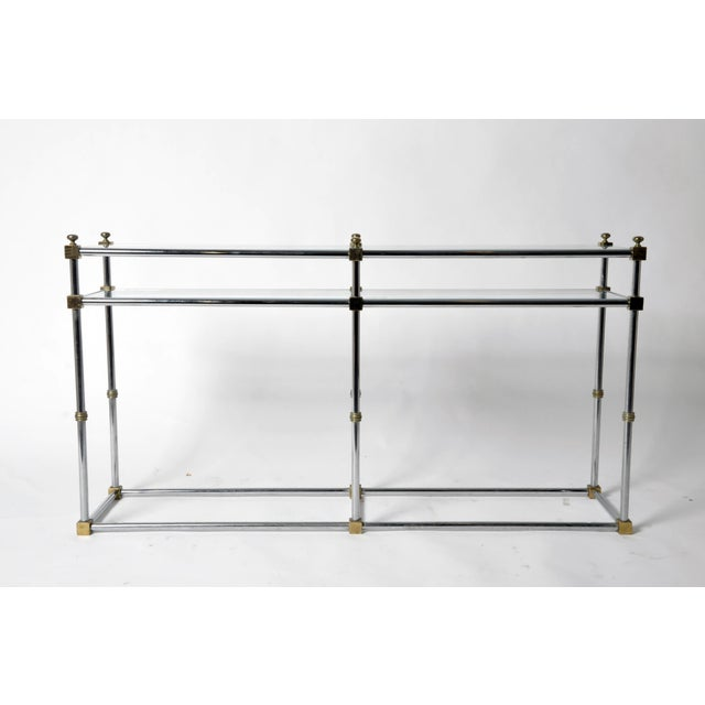 French Vintage French Console Table For Sale - Image 3 of 11