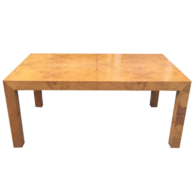 Milo Baughman Burl Parsons Table For Sale