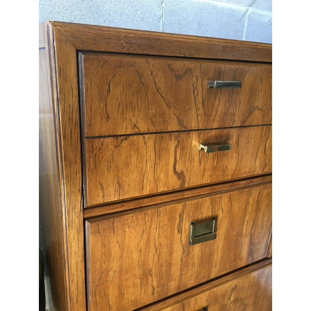 Campaign Drexel Consensus 5-Drawer Dresser For Sale - Image 3 of 7