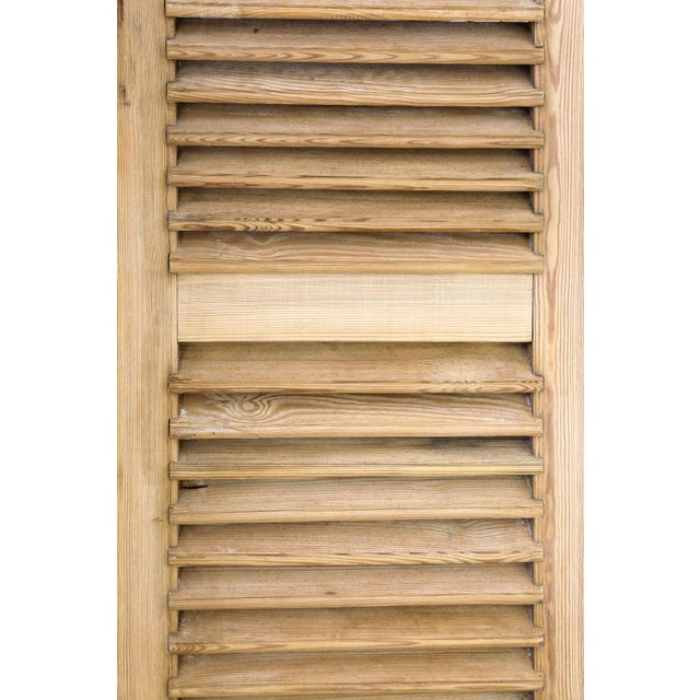 Set of Six Vintage French Shutters For Sale - Image 12 of 13