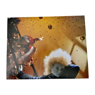 """""""Dreamy Boy at Christmas, Selfridge's, London"""" Contemporary Photograph Print by Louise Weinberg For Sale"""