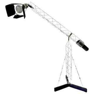 Mid-Century Modern Crane Lamp by Curtis Jere