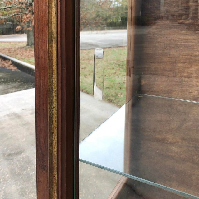 1900s Antique French Louis XVI Vitrine For Sale In Baton Rouge - Image 6 of 13