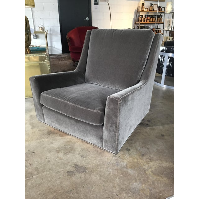 James Inc. Milo Baughman for James Club Chair For Sale - Image 4 of 6