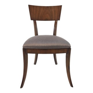 Modern Klismos Emerson Roswood Side Chair For Sale