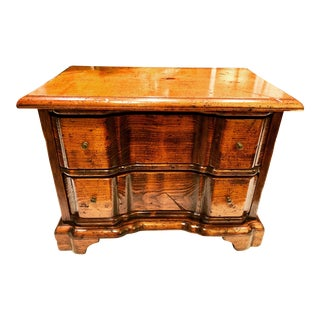 Diminutive Chippendale Style Blockfront Serpentine Chest