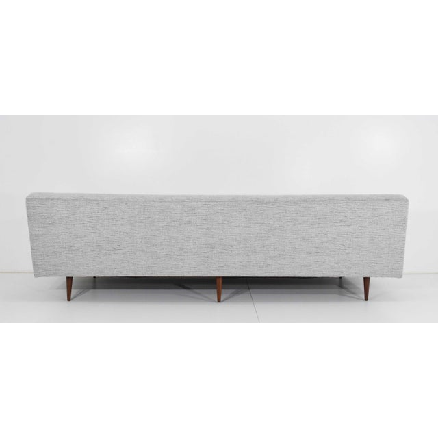 Fabric Milo Baughman for Thayer Coggin Sofa For Sale - Image 7 of 12