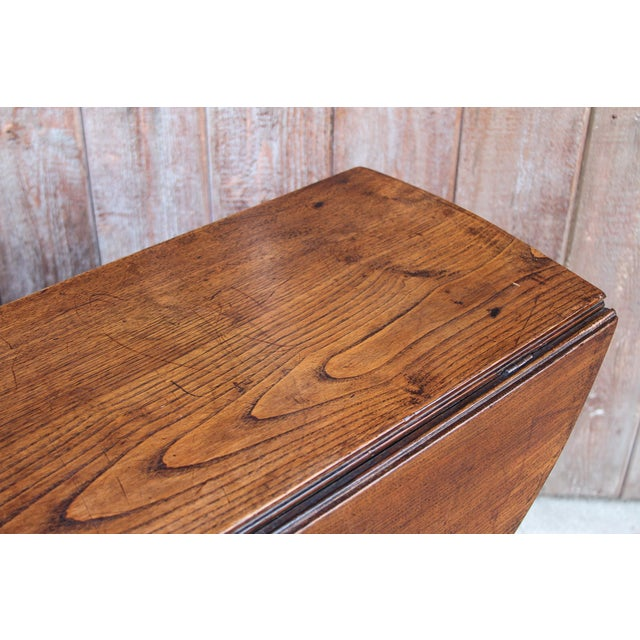 19th C. English Gateleg Console For Sale - Image 10 of 11