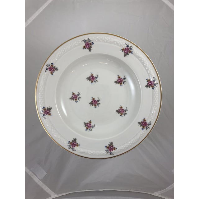 French Limoges Flower Patterned China Bowl For Sale In Austin - Image 6 of 6