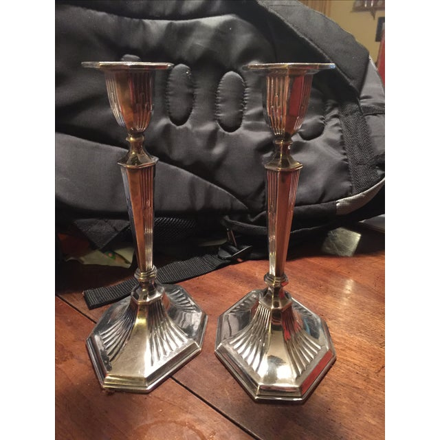 Reed And Barton Candlesticks - Pair - Image 3 of 5