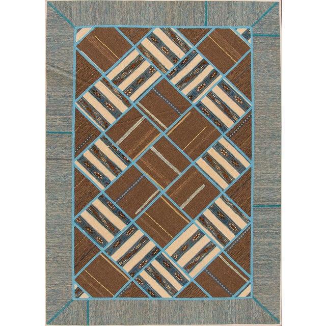 "Apadana - Persian Flat-weave, 5'6"" x 7'9"" - Image 4 of 4"