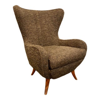 Custom Club Chair by Arden Riddle For Sale