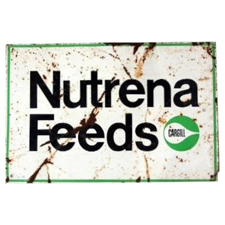 Vintage Nutrena Feeds Metal Sign - Image 1 of 5
