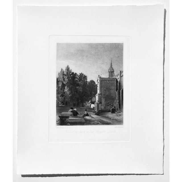 John Constable & David Lucas Mezzotint Collection From the Tate Gallery in London 1990's - Set of 16 For Sale - Image 12 of 14