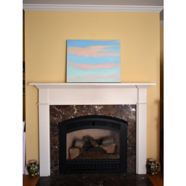 """Modern """"Layered Clouds"""" Contemporary Painting by Stephen Remick For Sale - Image 9 of 11"""