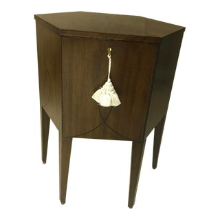 Barbara Barry by Hendredon Hexagonal Hatbox Accent Table For Sale