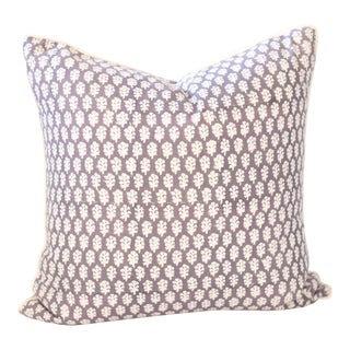 Block Print Pillow | Chakata For Sale