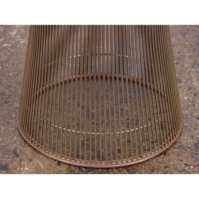 Warren Platner Wire Stool for Knoll For Sale In New York - Image 6 of 10