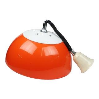 Brevettato Retractable Orange Pendant Lamp