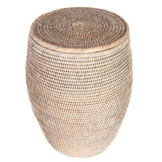 Artifacts Rattan Lidded End Table Preview